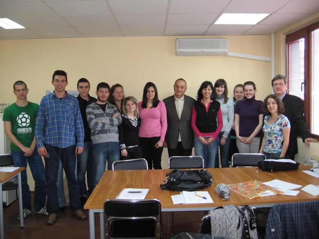 Занятия със студенти (съвместно с експерти от практиката)
