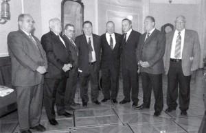 Съоснователи на юбилеения конгрес на МСИ (IUE).