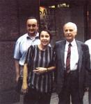 Делегация на Българската социалдемократическа партия (БСДП) на 20-тия конгрес на Социнтерна, Ню Йорк, сградата на ООН, 1996 г.