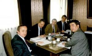 """Работна среща с чуждестранни банкери в Банката за стопански инициативи """"Минералбанк"""""""