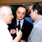 С Проф. д.т.н. Цветан Семерджиев и Проф. д-р. Митко Димитров