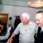 С Проф. д-р Иван Николов и Проф. д-р Марин Деведжиев (седнал)