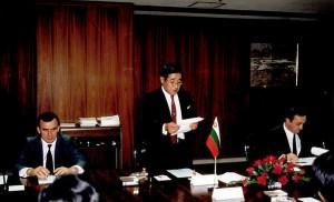 Слово на президента на  Индустриалната банка на Япония - Тецуо Такаги