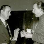 В кулоарите на парламента с депутата К.Маричков